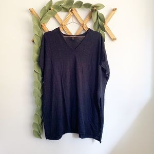 Eileen Fisher Black Sweater Tunic Small | Medium